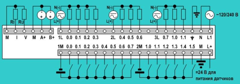 Siemens simatic схема